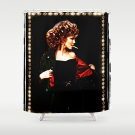 Grease Movie  Olivia Newton-John - John Travolta Shower Curtain