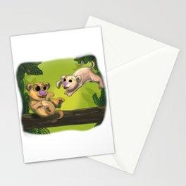 Simba and Nala Stationery Cards