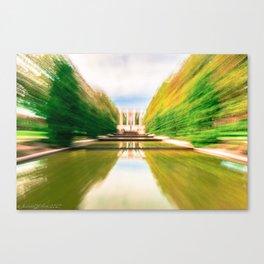 "Reflecting Pools ""Lightspeed"" Effect Canvas Print"