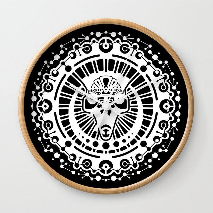 Rajah Sun Wall Clock