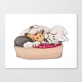 Topotto Christmas Canvas Print