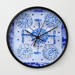 Snow arrows Wall Clock