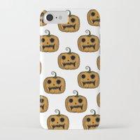 pumpkin iPhone & iPod Cases featuring Pumpkin by Michelle Wenz