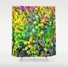 Dreamy Juniper Shower Curtain