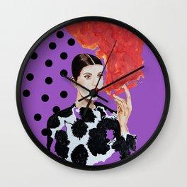 Firecracker Wall Clock