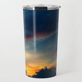 Muted Sunset Travel Mug