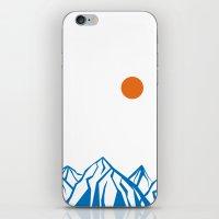 napoleon iPhone & iPod Skins featuring Napoleon Mountain by birdandtree