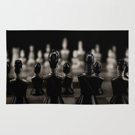 Chess pieces Rug