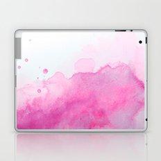 Abstract Watercolor Pink Laptop & iPad Skin