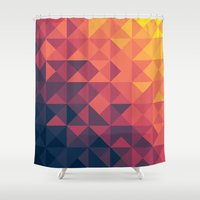infinity Shower Curtains featuring Infinity Twilight by Picomodi