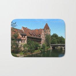 At The Pregnitz - Nuremberg Bath Mat