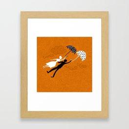I love you let's fly Framed Art Print