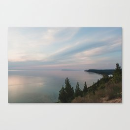 View from the Bluff Canvas Print