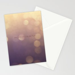 Provehito in Altum Stationery Cards
