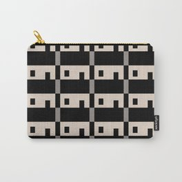 Row House Pattern Carry-All Pouch