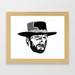 CLINT Framed Art Print