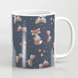 Cozy Fox Mom Reading to Baby Coffee Mug