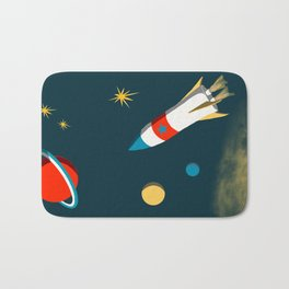 Space Adventure Bath Mat