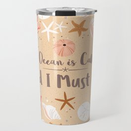 The Ocean is Calling Travel Mug