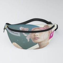 Pisces Intuitive Collage Fanny Pack
