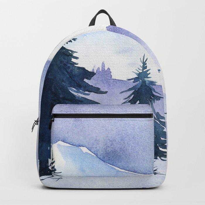 Winter scenery #1 Backpack