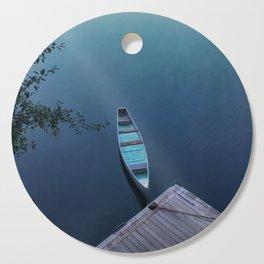 Blue Canoe Cutting Board