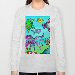 Sea Life Sampler Long Sleeve T-shirt