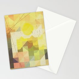 baja sunrise Stationery Cards