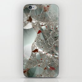 Tangled in the fractal mist iPhone Skin
