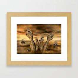 Andere Welten Framed Art Print