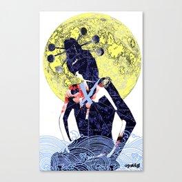 Cancer (Zodiac Series 1) Canvas Print