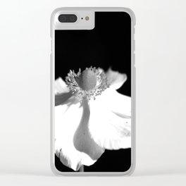 Graceful Beauty Clear iPhone Case