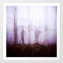 """Night Owl"" - Holga GCFN Double Exposure Art Print"