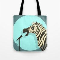 humor Tote Bags featuring Observational Humor by David Kantrowitz