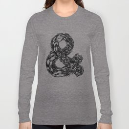 The Illustrated & Long Sleeve T-shirt