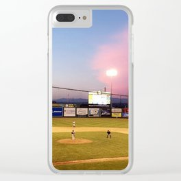 Take Me Out To The Ball Game Clear iPhone Case