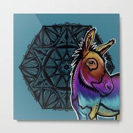 Donkey- Catalyst Ranch Metal Print