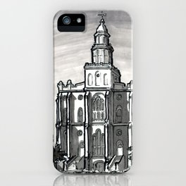 St George Utah Temple iPhone Case