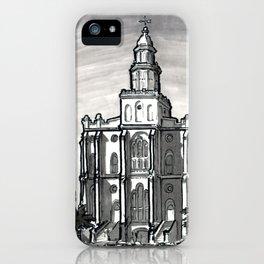 St George Utah Temple iPhone Case