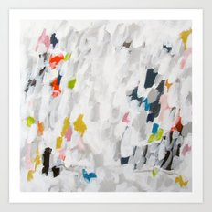 No. 71 Modern Abstract Painting Art Print
