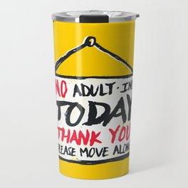No Thank You Travel Mug