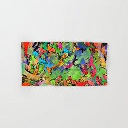 Grunge Lobsters Hand & Bath Towel