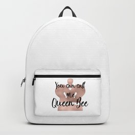 You can call me queen bee - rose gold crown Backpack