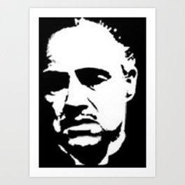 Vito Corleone Art Print