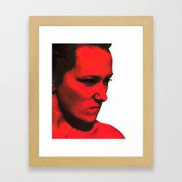 Anger Framed Art Print