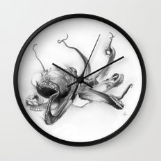 Pacific Octopus Wall Clock