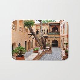 agadir medina courtyard Badematte