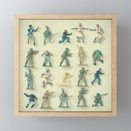 Broken Army Framed Mini Art Print