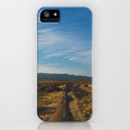 Los Angeles Aqueduct - Pacific Crest Trail, California iPhone Case