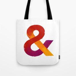 Warm Ampersand Tote Bag